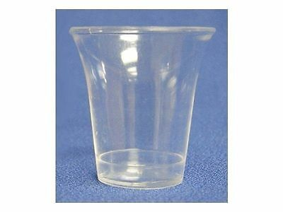 Disposable Communion Cups Clear Pack of 400