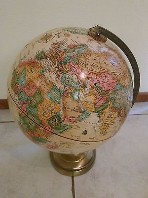 Repogle Globe 12 Inch Old World Classic Series w/ Explorers Metal Base