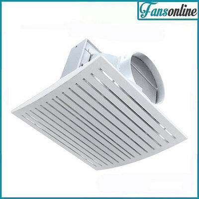 Ventair Jet Exhaust Fan White | High Capacity Ceiling Fan | Bathroom Fan