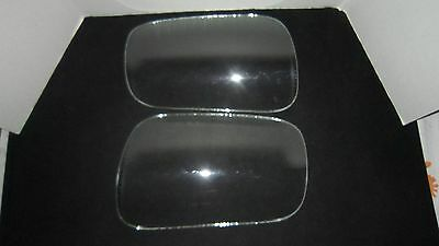 A Pair Of Curved Corner Windows, Glass Fits 1949 - 1952 Chevy Trucks