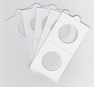 """LIGHTHOUSE 30mm SELF ADHESIVE 2""""x 2"""" COIN HOLDERS x 5 - SUIT FLORIN/ 20 CENT"""