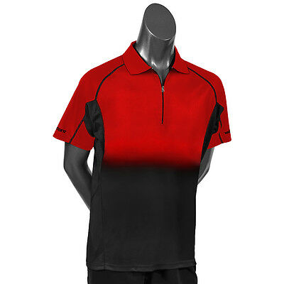Unicorn Pro Dart Shirt - Low Profile Branding - Gradient Red/Black - Small-4XL