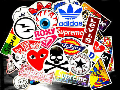 50PCS random vinyl decal graffiti sticker bomb laptop waterproof stickers skate