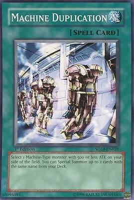 Yu-Gi-Oh! YuGiOh Machine Duplication - SD10-EN029 - Common 1st Edition Structure
