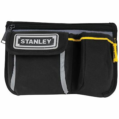 Stanley 1-96-179 Pocket Tool Belt Pouch Large Zip Pocket Mobile Phone Holder