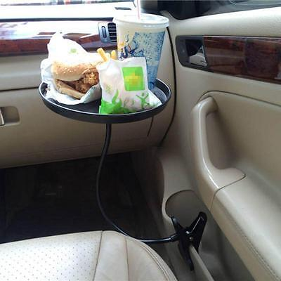 Car Auto Mount Holder Stand Travel Drink Cup Coffee Table Stand Food Tray Great