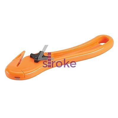 Safety Knife Film Slitter Strap Band Carton Box Tape Cutter Packet Opener Work
