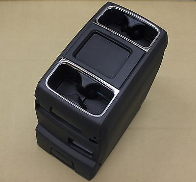 Front Seat Deluxe Center Console Cup Holder Storage Dodge Chrysler Van OEM 11-15