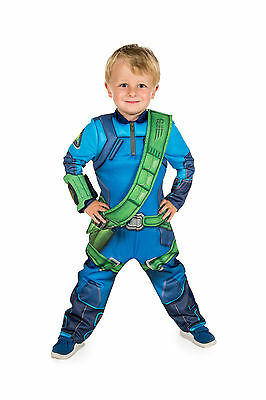 Thunderbirds Are Go! Virgil Tracy Fancy Dress Costume (Official ITV Licensed)