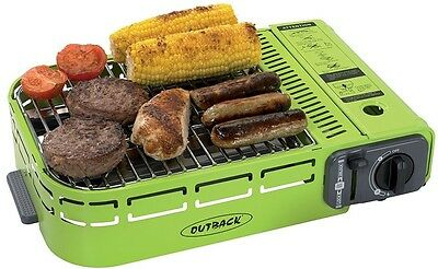 Camping Compact U-Grill & Carry Case Picnic Gas BBQ Outdoor Park Gadget&Gridle