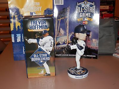Trevor Hoffman 2016 Autographed All Star Game Bobblehead Future Hof