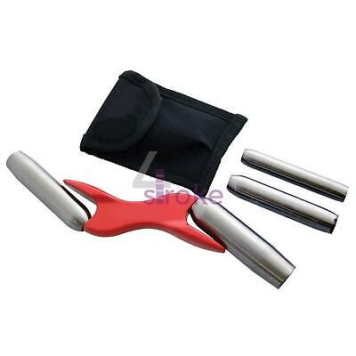"4 SIZE INTERCHANGEABLE BRICK BARREL JOINTER 1/2 5/8"" 3/4"" 7/8"" Trowel Mortar"