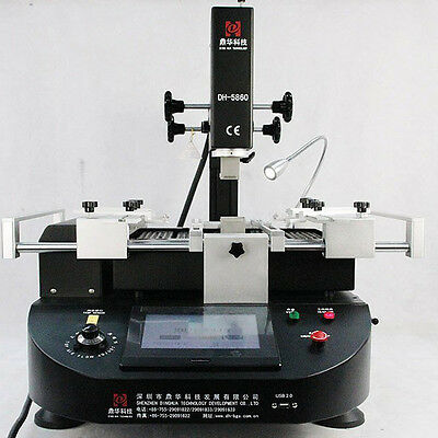 DH-5860 BGA Rework Station Infrared Preheating Remove Soldering Station