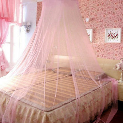 Elegant Round Lace Insect Bed Canopy Netting Curtain Dome Mosquito Net ES