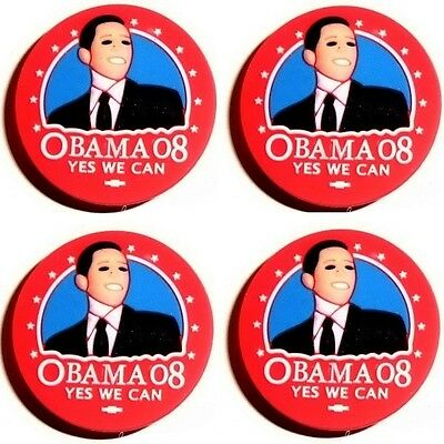 1 pin's clip fit Jibbitz shoe charm Barack OBAMA Yes We Can crocs