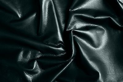 Black cowhide for leathercraft Small pieces  Barkers Hide and Leather Skins N140