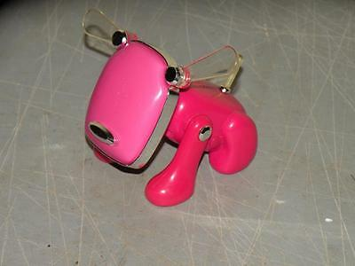 "Ipod Iphone idog pink dog toy with ears 4"" x 3 1/2"""