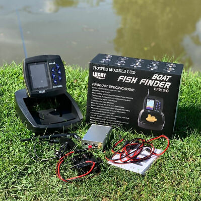 Lucky FF918 Wireless Sonar Fish Finder for Lake Reaper & other Bait Boats