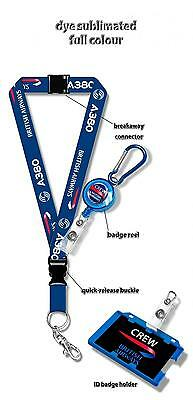 British Airways A380 Dye Sublimation Lanyard