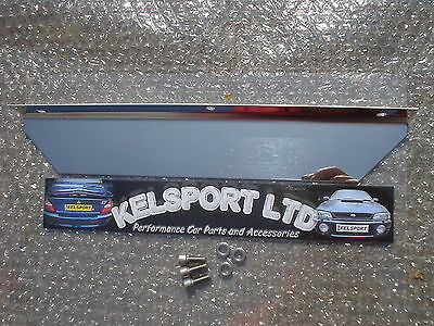 Polished Heat Shield C20LET Redtop Cavalier Astra Turbo