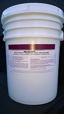 5 Gal Heavy Duty Gel Formula Engine Cleaner Degreaser Patriot Chemical Sales
