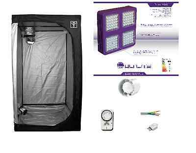 Cultibox Growroom 100x100x200cm completa kit Cultilite 300W LED Agro indoor