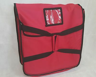 "Pizza Delivery Bag (Size 20""X20""X7"") Full Insulated All Sides Keep It Warm"