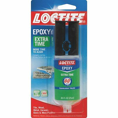 (8 Pack) Locktite 2 Part General Use Epoxy  Glue Repair
