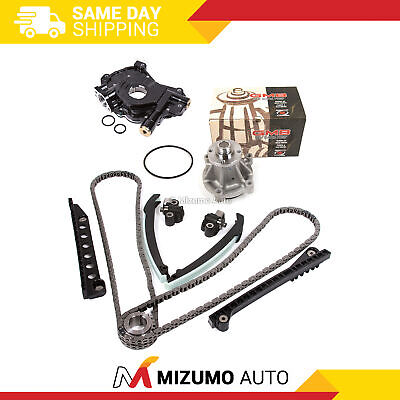 Timing Chain Kit Water Oil Pump Fit 04-10 Ford F150 F250 TRITON 5.4 3-Valve
