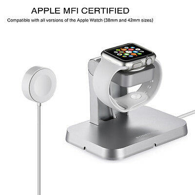 Magnetic Charging Dock Station Charger Holder Stand For Apple Watch iWatch