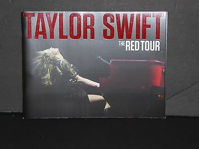 Taylor Swift RED tour book concert souvenir program with 24 card game CMA voter
