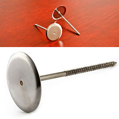 2pcs Stainless Steel Cake Decoration Nails Cupcake Ice Cream Flower Needle Decor