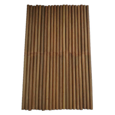 24pcs Dia11-12mm Percussion Bamboo Drumstick 38cm Natural Bamboo Timpani Mallet