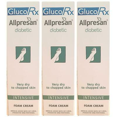 Allpresan Diabetic Foot Foam Cream Intensive 125ml - 3 Pack