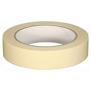 "4 x 1"" Rolls 1 Inch TOP QUALITY Masking Tape 50 METERS ON A ROLL FREE CARRIAGE"