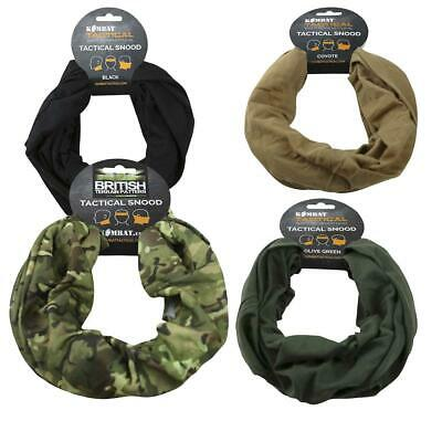 Kombat Tactical Snood Head Wrap Hunting Airsoft Motorbike Scarf Cadet