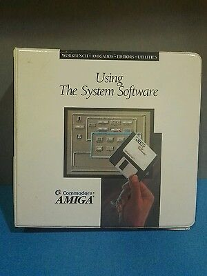 Amiga Workbench Version 2.05 Using The System Software Commodore Vintage