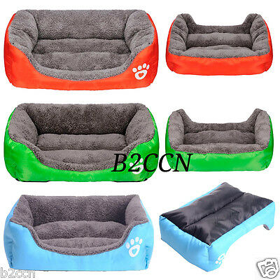 Fashion Pet Dog Cat Bed Puppy Cushion House Pet Soft Warm Kennel Dog Mat Blanket