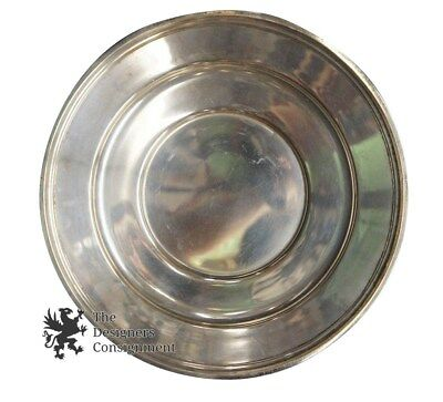 "Dominik & Haff 10"" Sterling Plate 307.6 Grams .925 Bread + Butter Salad Dish"