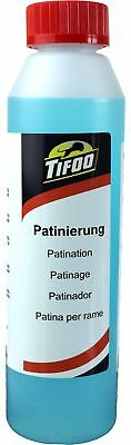 Patination fluid (1000 ml)- Copper & brass ager - Ageing solution -Patina paint