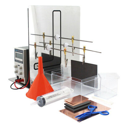 Plating kit for tank or immersion plating - Deluxe kit (with 10 A power supply)