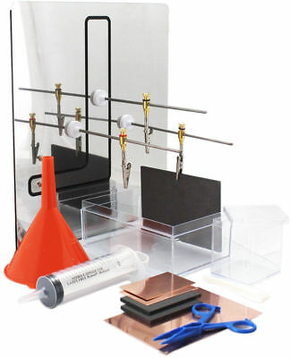 Plating kit for tank or immersion plating - Deluxe kit (without power supply)