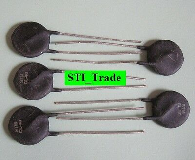 5X 6A 5 Ohm ICL Thermistor GE CL-40 or Amp STM CL-40, SG450, Ametherm SL15 5R006