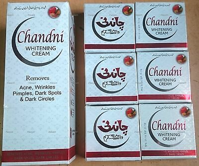 Chandni Whitening Cream 100% Original Pakistan Brand X 6 Special Offer