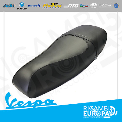 Sella Lunga Nera Vespa Px Pe 125 150 Elite Black