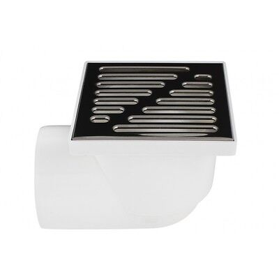Floor Drain Square 150mm x 150mm / 110mm Pipe Bathroom Wet Room Shower KRNB110