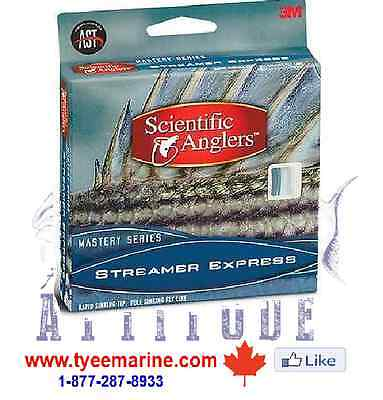 Scientific Angler Streamer Express wf-350-s Fly Line in Canada 250-334-2942