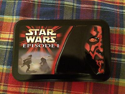 Star Wars Episode 1 Collectors Edition Set Of Cards. Tin Case. Great Condition.