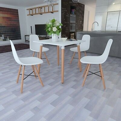 New Matte White Square Dining Table 3 Models Selectable Dining Room Kitchen