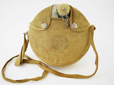 VINTAGE BOY SCOUTS OF AMERICA BSA Canteen & Brown Canvas Cover w/ Strap